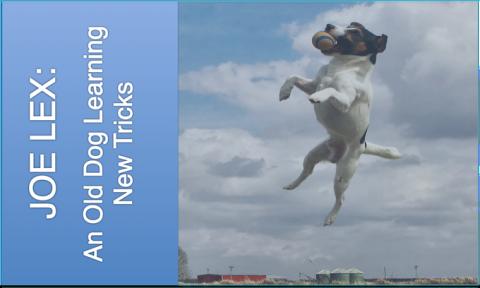 JOE LEX: AN OLD DOG LEARNING NEW TRICKS