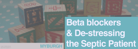 Myburgh — Beta blockers and De-stressing the Septic Patient