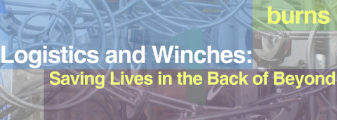 LOGISTICS AND WINCHES: SAVING LIVES IN THE BACK OF BEYOND