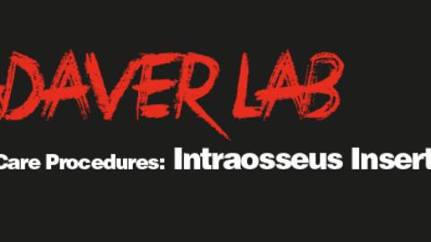 Critical Care Procedures: Intraosseus Insertion