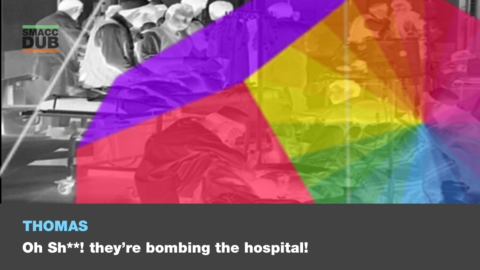 Oh s**t, they're bombing our hospital! Is this a new paradigm for war?