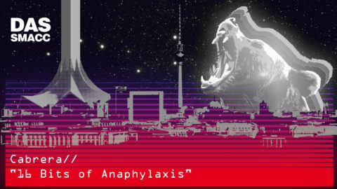16 Bits of Anaphylaxis by Daniel Cabrera
