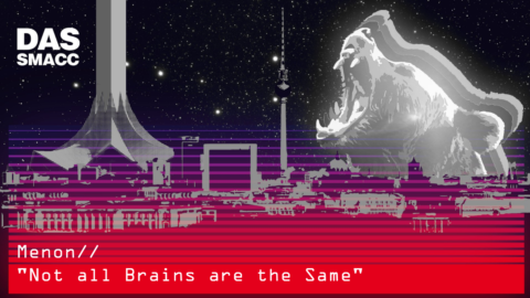 Not all Brains are the Same by David Menon